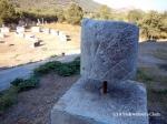 A Roman milestone in Ephesus