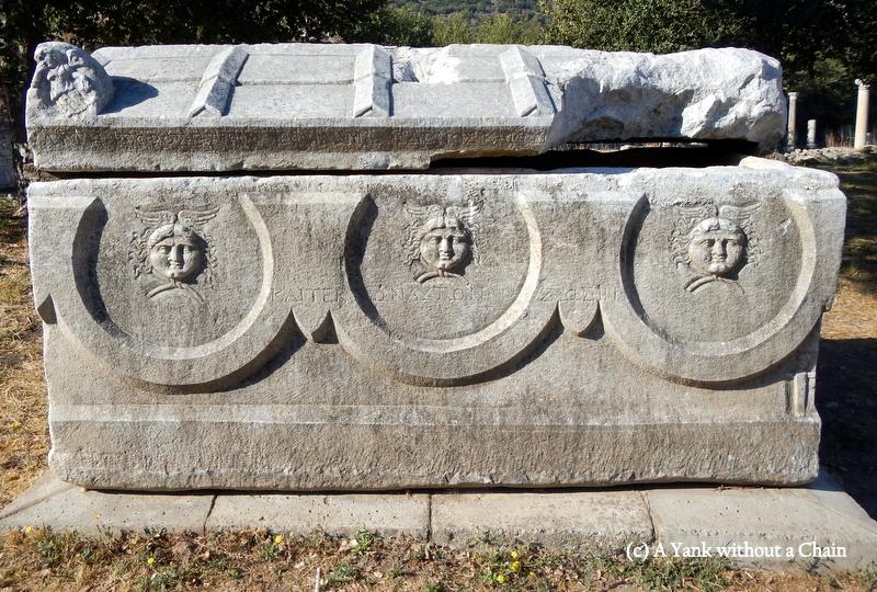 A sarcophagus in Ephesus