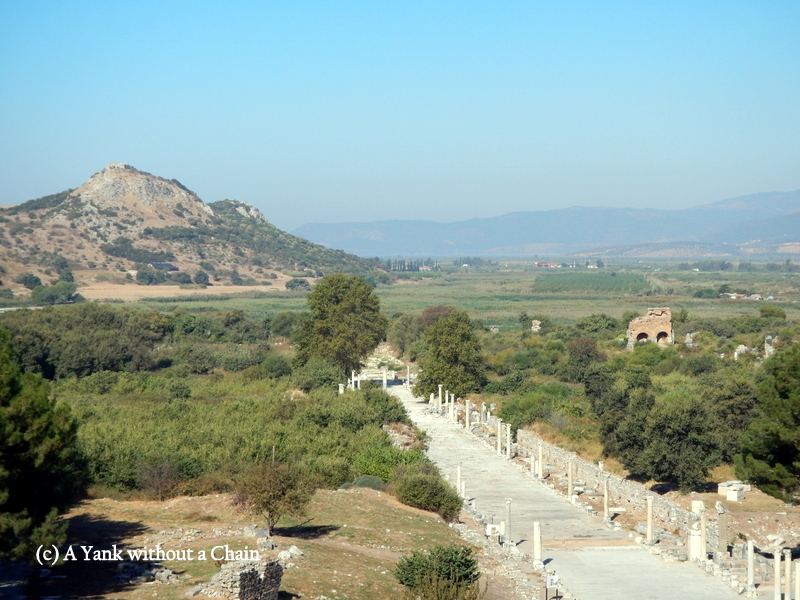 A Roman road in Ephesus