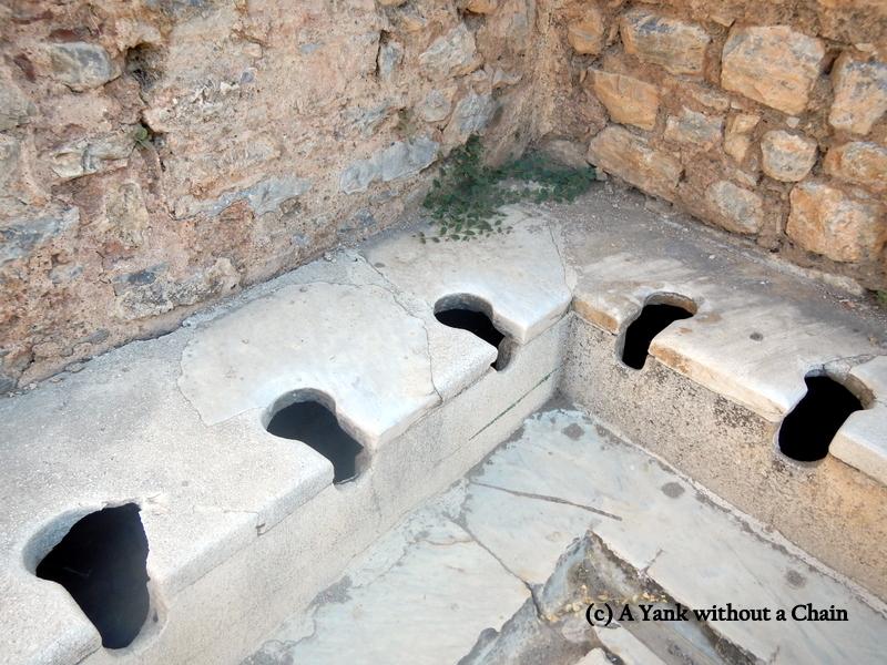 Ancient urinals!