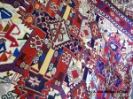 A detail of one of Mehmet's rugs