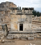 An ancient Roman olive press at Hierapolis