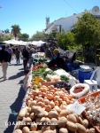 Saturday is market day in Datca!