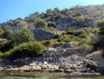 Part of the sunken city of Kekova