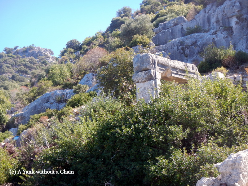 A church with a cross on it from the Lycian period