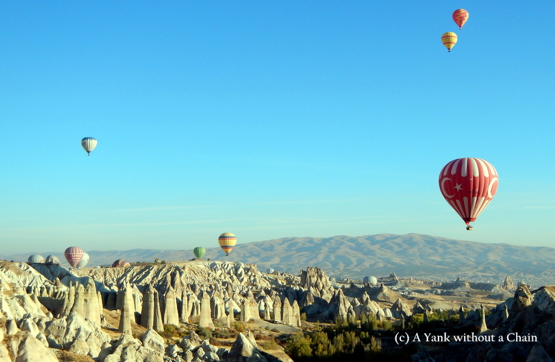 Yet another stunning view of the Cappadocia landscape