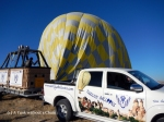 The Turkiye Balloons truck and trailer