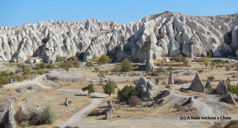View over Goreme National Park