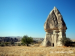 A fairy chimney in Cappadocia!