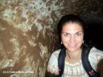 A selfie inside a Derinkuyu tunnel