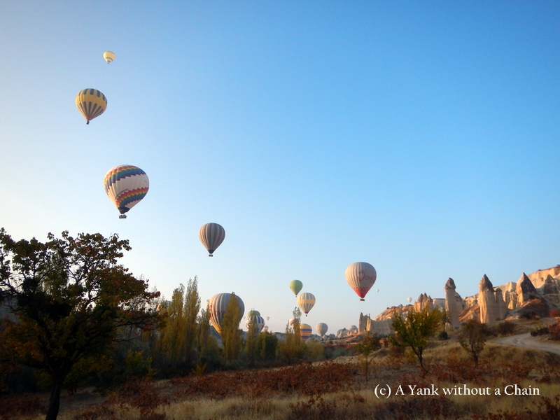..and even more balloons in Cappadocia!