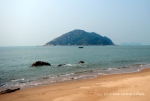 The beach of Lantau Island