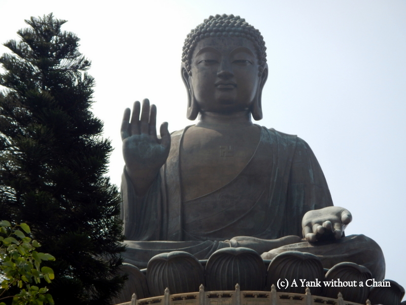 The Big Buddha in Hong Kong