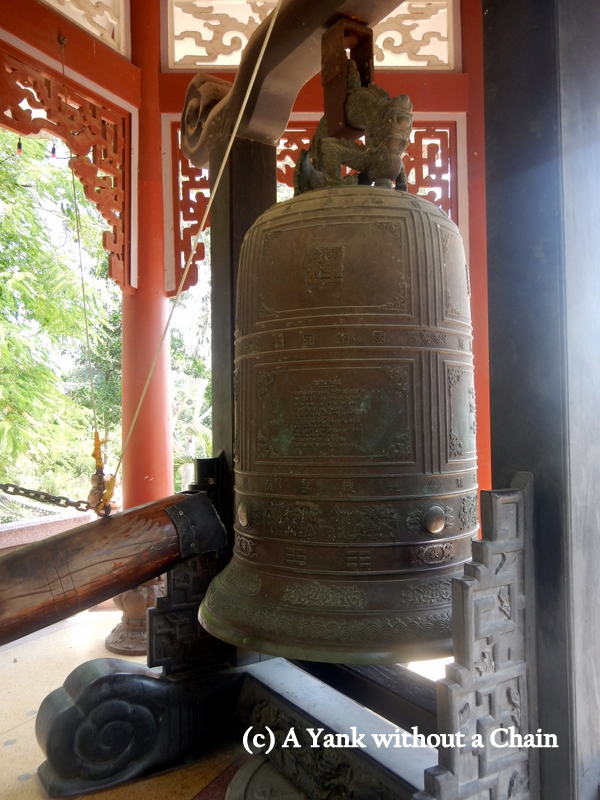 The bell of the Long Son Pagoda