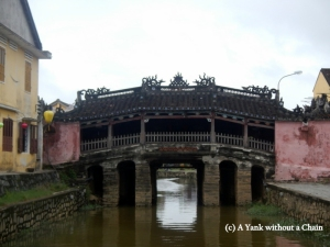 The Japanese Covered Bridge in Hoi An, Vietnam