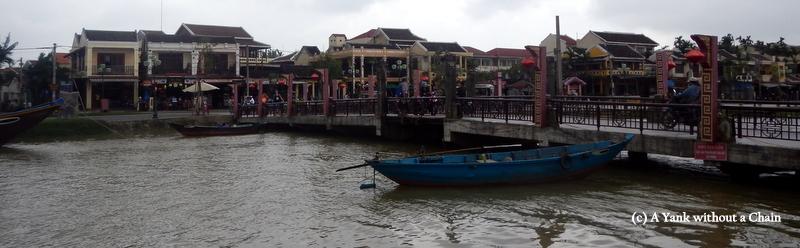 A bridge over the Thu Bon River in Hoi An