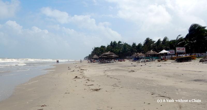 The beach at Hoi An