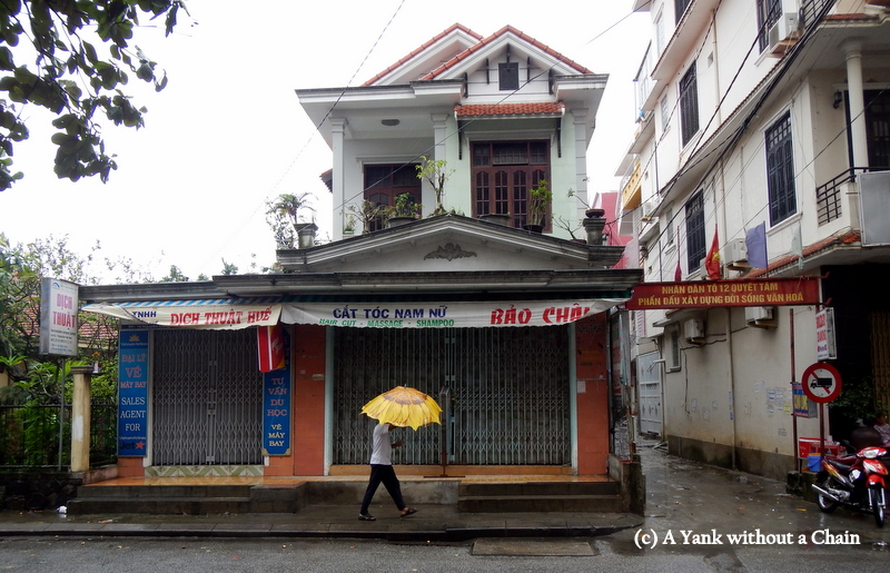 The winds before Typhoon Haiyan was due to hit in Hue