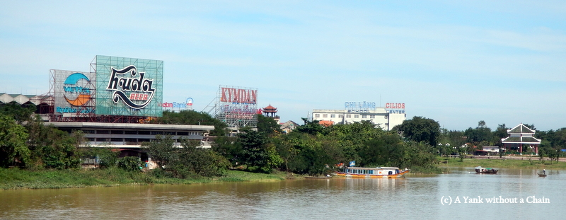 The Perfume River in Hue