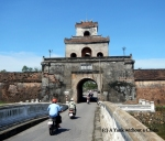 An entrance to the imperial citadel in Hue