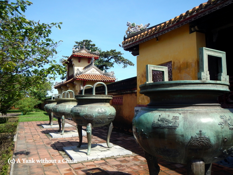 Pots in the Hue Citadel