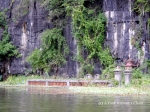 A monument at Tam Coc