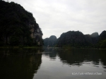 The scenery at Tam Coc