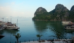 A view of Ha Long Bay