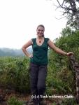 Posing at Ngu Lam Peak at Cat Ba National Park
