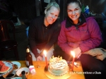 I shared my birthday with Kim, a fellow trekker, and we were surprised with a cake!