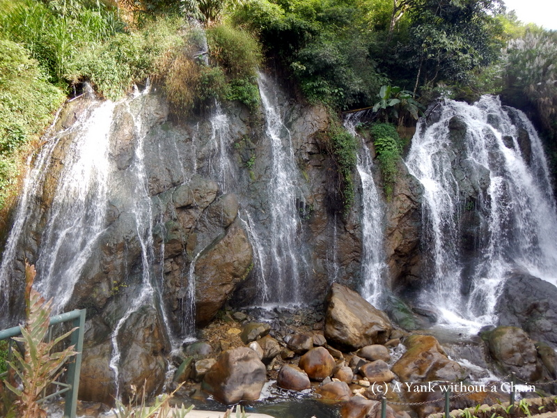 The Tien Sa waterfall in Cat Cat