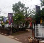 The entrance to the UXO Laos Center in Luang Prabang