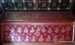A gorgeous ceiling at Vat Xieng Thong in Luang Prabang