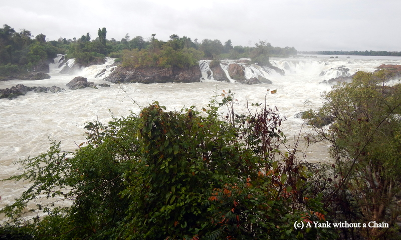 The widest waterfalls in Southeast Asia, Khone Phapheng