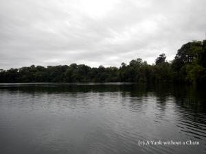 Yeak Laom lake near Banlung, Cambodia