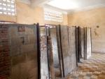 Cells at S-21 prison in Phnom Penh