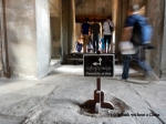 A sign directing tourists at Angkor Wat