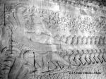 The bas relief at Angkor Wat