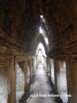 A hallway inside the Baphuon in Angkor Thom