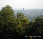 The view of Angkor Wat from Phnom Bakheng