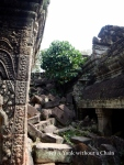A portion of the ruins of Preah Kahn