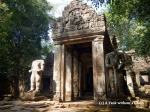 A gate at Preah Kahn