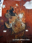 Chiang Mai Street Art Fish