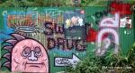 Chiang Mai Street Art Pink Angel