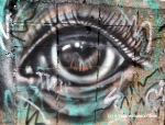 Chiang Mai Street Art Eye