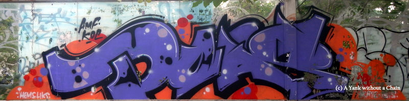 Chiang Mai Street Art Tag