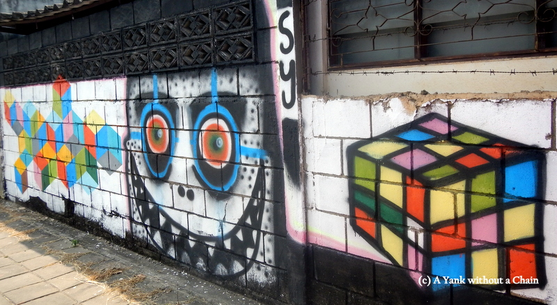 Chiang Mai Street Art Blocks 3