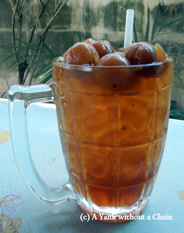 Longyan is a local fruit from norther Thailand, and it's delicious as a drink