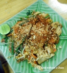 The pad Thai that I made at the Zabb-e-Lee cooking school