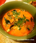 My Tom Yum soup from the Zabb-e-Lee cooking school